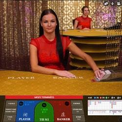 Live Baccarat sur Cbet Casino