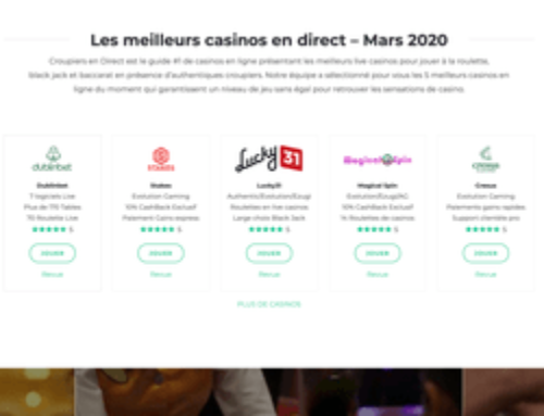 Un guide de casino online plus ergonomique