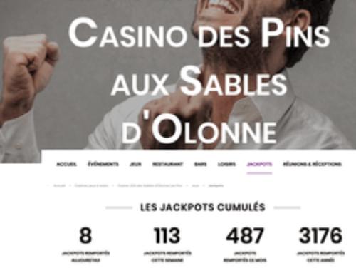 Deux jackpots tombent au Casino Joa des Sables d'Olonne