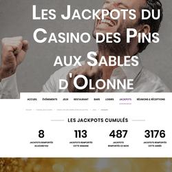 Jackpots au Casino Joa des Sables d'Olonne