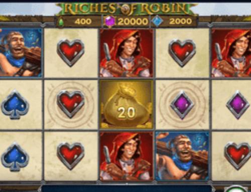 La nouvelle machine à sous Riches of Robin de Play'n GO arrive sur Lucky8