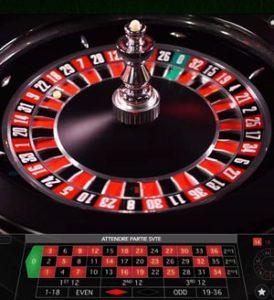 Explications des règles de roulette anglaise