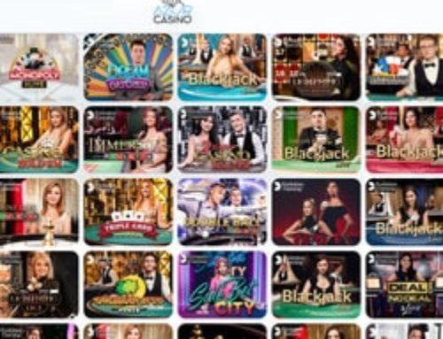 Azur Casino propose des jeux live réussis et très variés