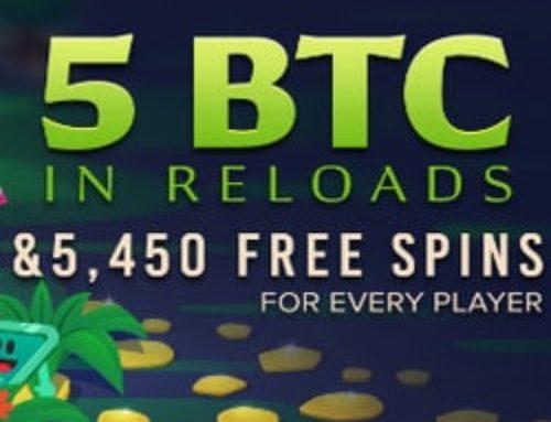 Bénéficiez de bonus sur mBit Casino tous les jours