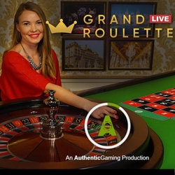 Grand Roulette Live d'Authentic Gaming sur Casino Extra
