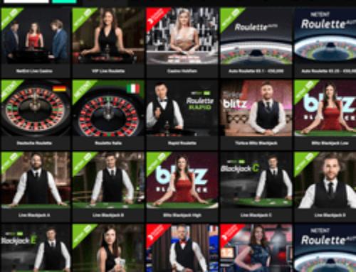 Top 5 des jeux en live du casino en ligne Cbet