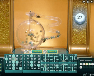 Jeux en live Mega Ball, un jeu hybride entre loterie et keno