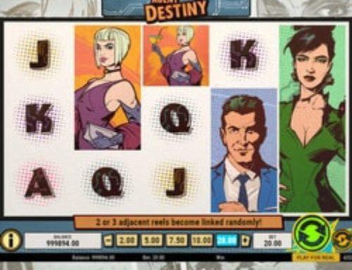 Jouez à la machine à sous Agent Destiny de Play'n GO sur Lucky31
