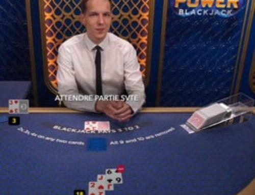 Power Blackjack: Un jeu live pour quadrupler sa mise sur Dublinbet