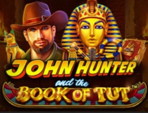 Jouez sur le slot en ligne John Hunter and the Book of Tut sur Stakes