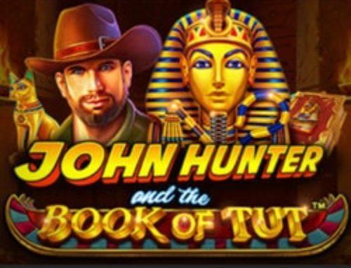 Jouez sur le slot en ligne John Hunter and the Book of Tut sur Stakes