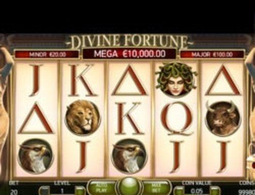 Nouveau record de gains pour le jackpot progressif Divine Fortune