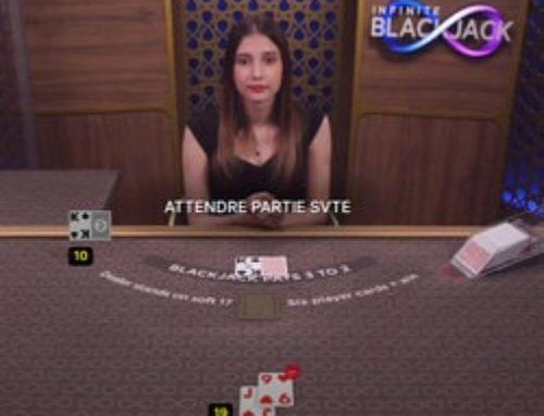Aucune limite de joueurs avec le jeu live Infinite Blackjack sur Magical Spin