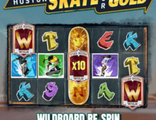 Zoom sur la machine à sous Nyjah Huston Skate for Gold sur Lucky31