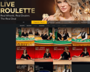 Jeux en direct de Pragmatic Play Live Casino sur Fortunejack