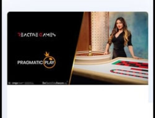 Pragmatic Play Live Casino signe un accord avec Reactive Games