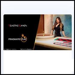 Partenariat entre Pragmatic Play Live Casino et Reactive Games