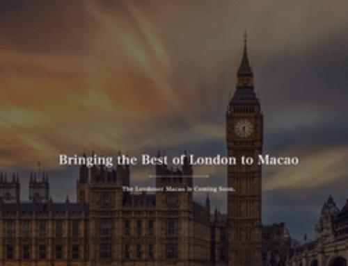 L'ouverture du Londoner Macao risque d'être repoussée