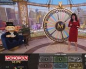 Monopoly en ligne sur Magical Spin