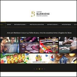 Jackpots progressifs en folie au Casino barrière d'Enghien-les-Bains