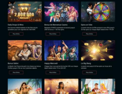 Zoom sur les bonus et promotions du casino online Stakes
