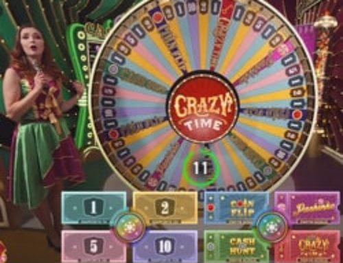Jouer en direct à Crazy Time sur Cresus Casino