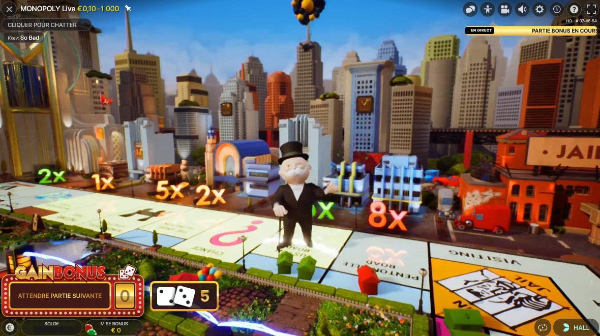 Monsieur Monopoly et sa fameuse moustache et chapeau noir