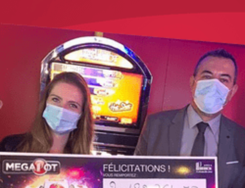 Jackpot progressif Megapot : 2 millions gagnés au Casino Le Lyon Vert