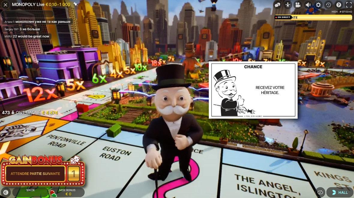 Jouer au Monopoly en ligne comme sur le jeu Hasbro
