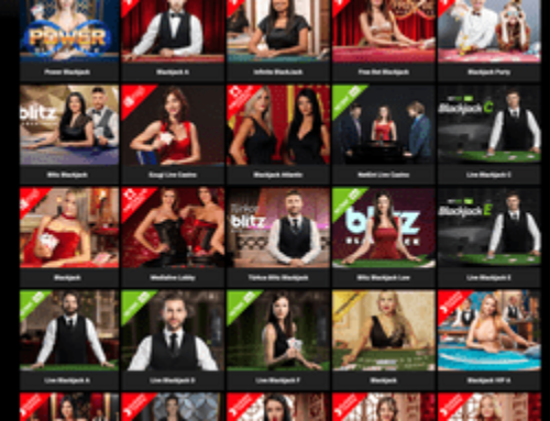 Le casino en ligne Cbet offre plein de jeux de blackjack live