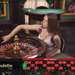 Table de Roulette en live