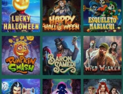 Zoom sur les machines à sous Halloween sur Cresus Casino