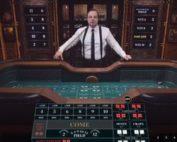 Table de Craps en ligne sur Cresus Casino