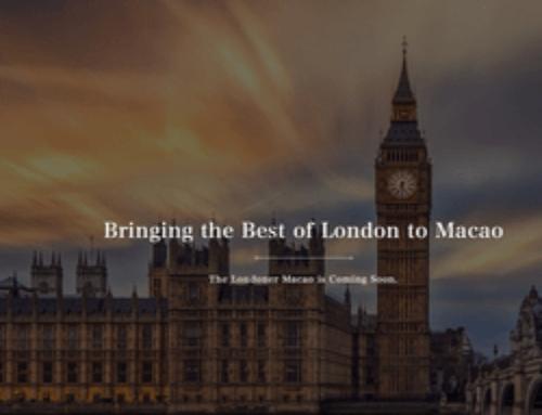 L'ouverture du Londoner Macao est prévue en février prochain
