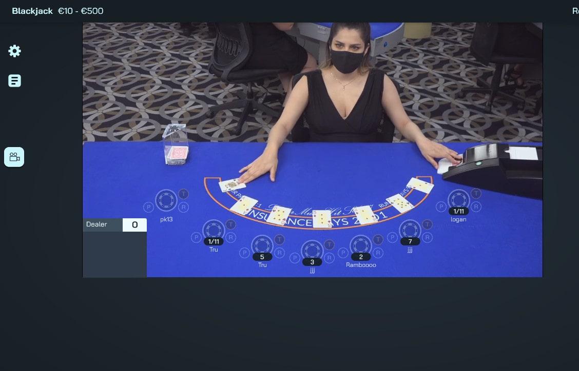 Blackjack en ligne de Visionary Igaming