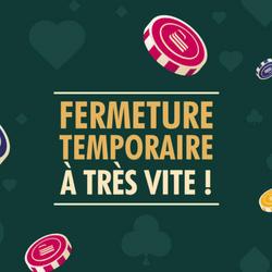 Fermeture temporaire des casinos en France jusqu'au 7 janvier 2021