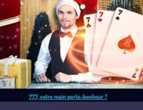 Lucky8 organise un challenge sur du blackjack live
