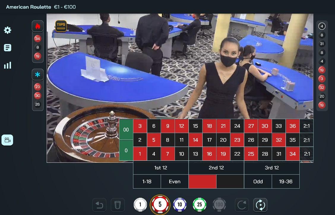 Roulette en ligne de Visionary Igaming