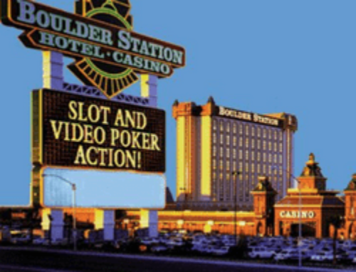 Un gros jackpot progressif gagné sur un video poker à Las Vegas