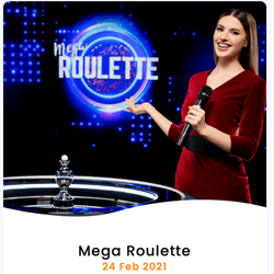 La sortie de Mega Roulette de Pragmatic Play Live est prévue pour le 24 février 2021