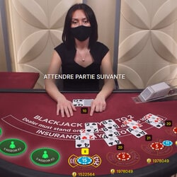 CasinoExtra Blackjack One et Two sont les 2 nouvelles tables de blackjack sur Casino Extra