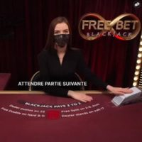 Free Bet Blackjack accessible sur le casino online Lucky8