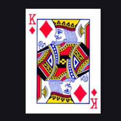 La carte Roi de carreau manquante dans un sabot de blackjack créé la polémique