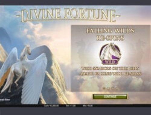 Un jackpot progressif tombe sur Divine Fortune