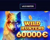La promo Wild Hunters est un tournoi de slots online Playson sur Lucky8