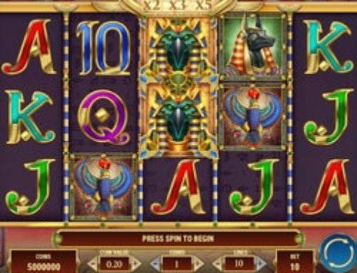 La machine à sous Amulet of Dead disponible sur Casino Extra