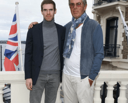 Alexandre Desseigne-Barrière et son père Dominique Desseigne