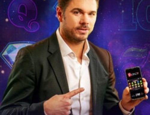 Stan Wawrinka, ambassadeur du casino en ligne Partouche en Suisse