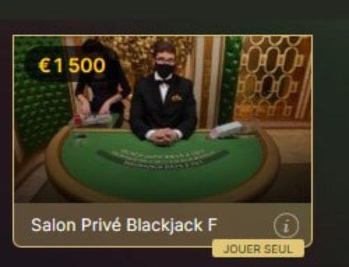 Deux nouveaux jeux dans la gamme Salon Privé Blackjack