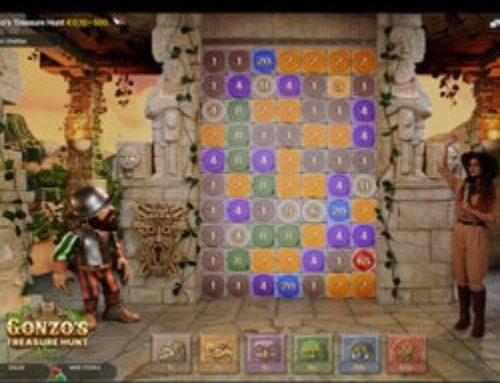 Gonzo's Treasure Hunt débarque sur Magical Spin
